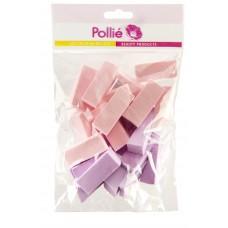 Спонж Pollie (набор макияжный, 24шт.)
