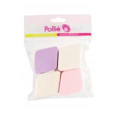 Спонж Pollie (набор макияжный, 4шт.)