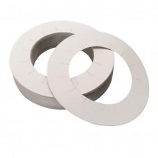 Кольца Pollie (бумажные на воскоплав, 100шт.)
