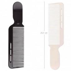 EUROstil (расческа, 07364, machine, черная/белая)