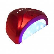 Planet Nails UV/LED лампа 24/48W Sunlight красная