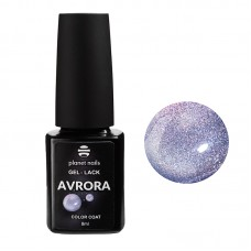 Planet Nails Гель-лак, Avrora - 123, 8мл.