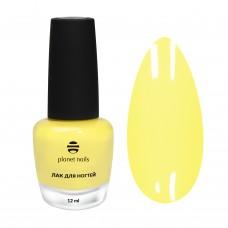 Planet Nails Лак для ногтей с эффектом гелевого покрытия - 875, 12мл.