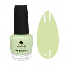Planet Nails Лак для ногтей с эффектом гелевого покрытия - 877, 12мл.