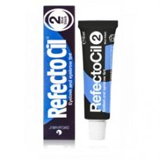 Краска для бровей и ресниц RefectoCil № 2, иссиня-чёрный, 15 мл