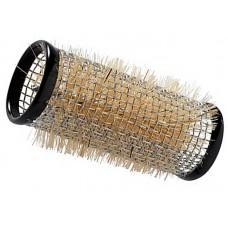 Бигуди Sibel (металлические, с натуральной щетиной, d28мм., 12шт.)