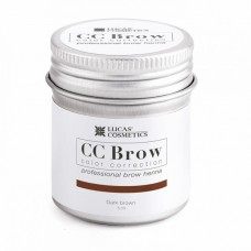 CC Brow Color Correction Хна для бровей, цвет - темно-коричневый (в баночке) 5 г.
