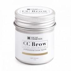 CC Brow Color Correction Хна для бровей, цвет - светло-коричневый (в баночке) 5 г.