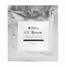 CC Brow Color Correction Хна для бровей, цвет - темно-коричневый (в саше) 5 г.