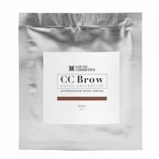 CC Brow Color Correction Хна для бровей, цвет - коричневый (в саше) 5 г.