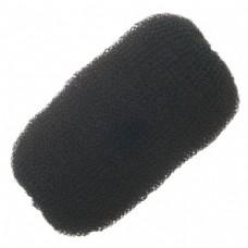 Валик PROFI line (для причесок, сетка, черный, 12см.)