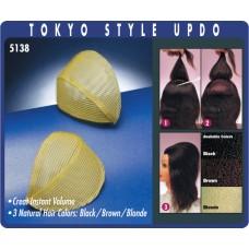 Валик PROFI line (для причесок, TOKYO STYLE UP, коричневый)