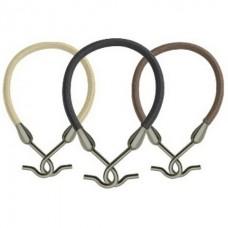 Резинки PROFI line (на крючках, черные, 1шт.)