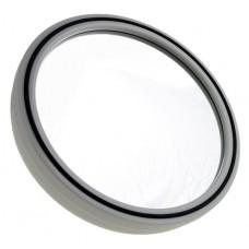 Зеркало PROFI line (черное, круглое, d.23см.)