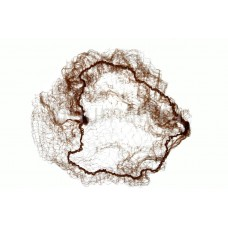 Сеточка-паутинка PROFI line (MAXI, коричневая, 2шт.)