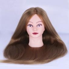 Голова  (100% natural, HUMAN HAIR, женская, 70см.)