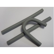 Бигуди-бумеранги PROFI line (R-FXR- 1, d18мм.*240мм., серые, 12шт.)