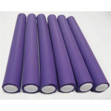 Бигуди-бумеранги PROFI line (R-FXR-19, d20мм.*240мм., фиолетовые, 12шт.)