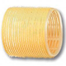 Бигуди-липучки PROFI line (R-VTR-17, желтые, d65мм., 6шт.)