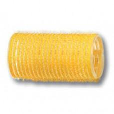 Бигуди-липучки PROFI line (R-VTR-5, желтые, d32мм., 12шт.)