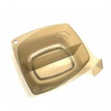 Чаша PROFI line (для окраски, квадратная, с перегородкой, 2*300мл.)
