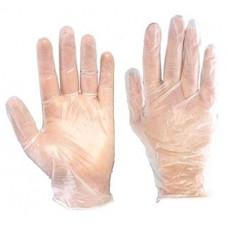 Перчатки виниловые, L, 100шт.